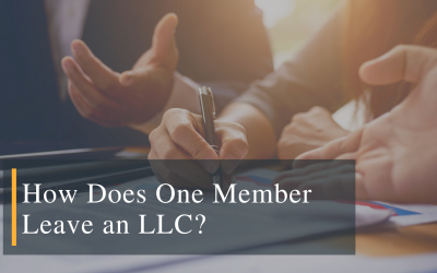How Does One Member Leave an LLC?