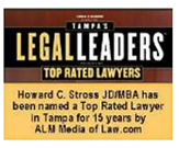 Tampa's LegalLeaders Top Rated Lawyers